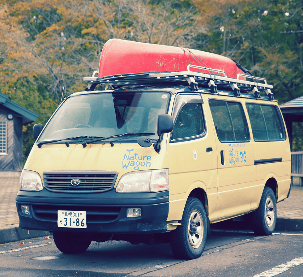 ワゴン車『Nature Wagon 3G』号